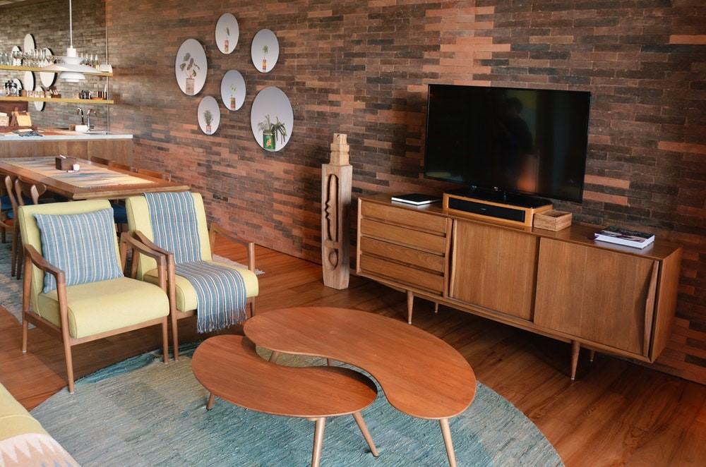tv in de kamer
